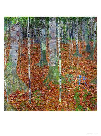 gustav-klimt-buchenwald-beech-trees-1903