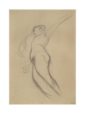 gustav-klimt-floating-female-figure-in-profile