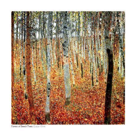 gustav-klimt-forest-of-beech-trees-c-1903