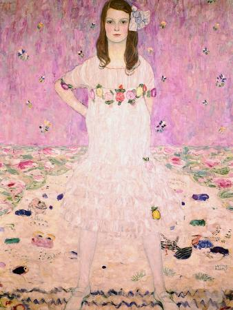 gustav-klimt-girl-in-white