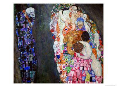 Life and Death (Tod Und Leben) Giclee Print by Gustav ...
