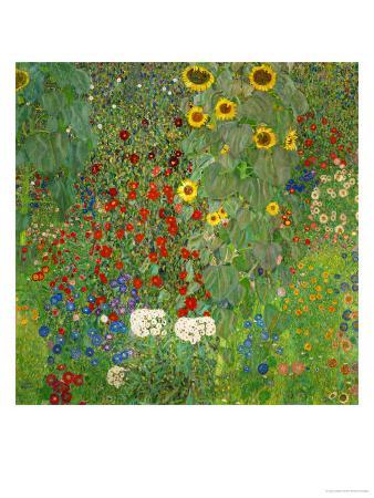 gustav-klimt-sunflowers-1912