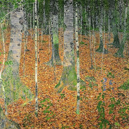 gustav-klimt-the-birch-wood-1903