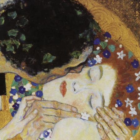 gustav-klimt-the-kiss-head-detail