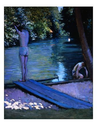 gustave-caillebotte-bathers-preparing-to-dive