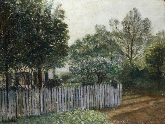 gustave-caillebotte-la-maison-dans-les-arbres-1880