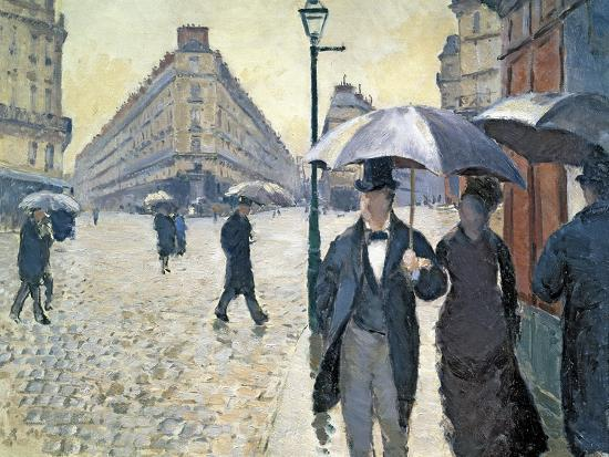 gustave-caillebotte-sketch-for-paris-street-rainy-day-1877-pre-restoration