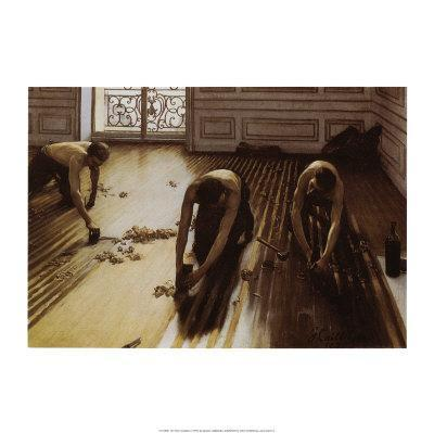 The Floor Scrapers Art Print by Gustave Caillebotte at Art ...