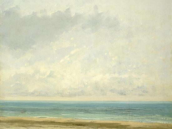 gustave-courbet-calm-sea-1866