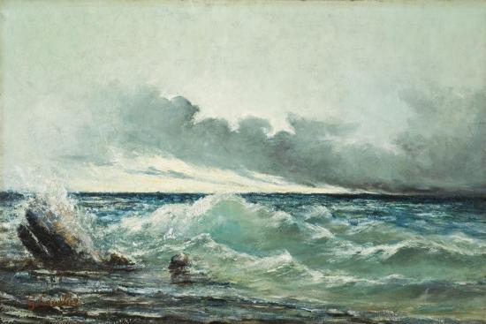 gustave-courbet-la-vague