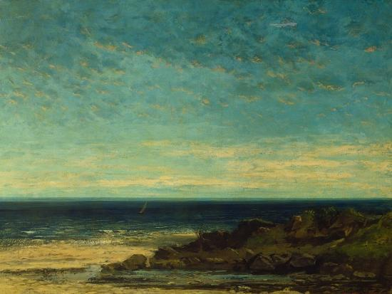 gustave-courbet-seascape-at-maguelonne
