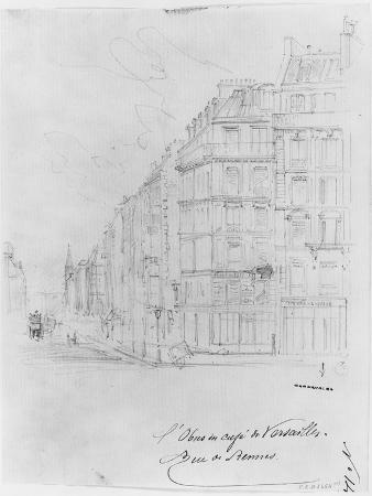 gustave-dore-album-of-the-siege-of-paris-shell-of-cafe-de-versailles-rue-de-rennes