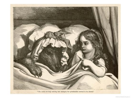 gustave-dore-she-could-not-help-noticing-how-strangely-her-grandmother-seemed-to-be-altered