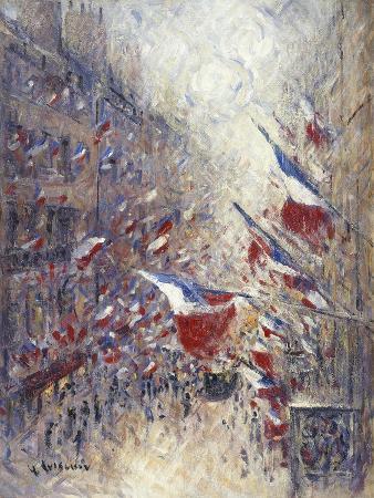 gustave-loiseau-the-fourteenth-of-july-in-paris