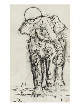 gustave-moreau-etude-d-elephant
