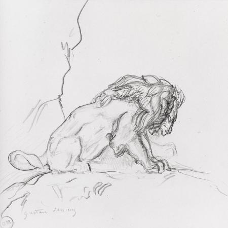 gustave-moreau-lion