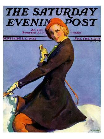 guy-hoff-woman-on-horseback-saturday-evening-post-cover-september-17-1932