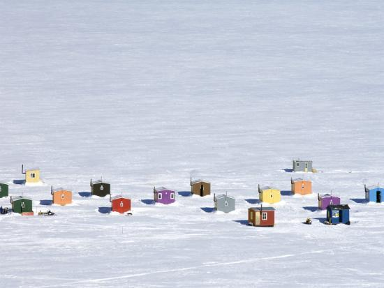 guylain-doyle-overhead-of-ice-fishing-huts