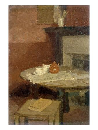 gwen-john-the-brown-tea-pot-1915-16