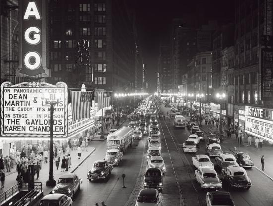h-armstrong-roberts-night-scene-of-chicago-state-street-c-1953