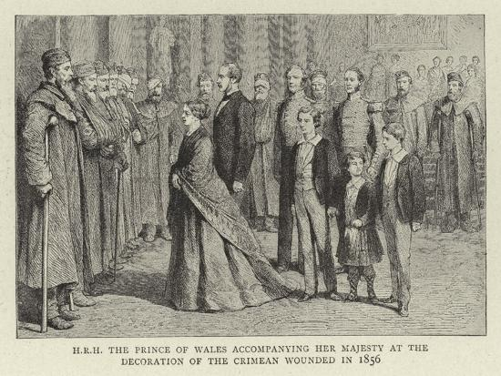 h-r-h-the-prince-of-wales-accompanying-her-majesty-at-the-decoration-of-the-crimean-wounded-in-1856