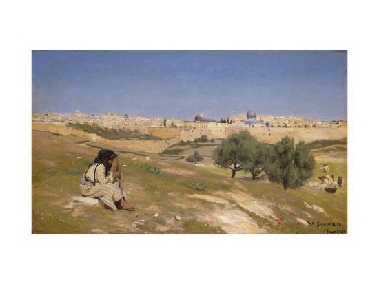 hans-andersen-brendekilde-jerusalem-from-the-south-east