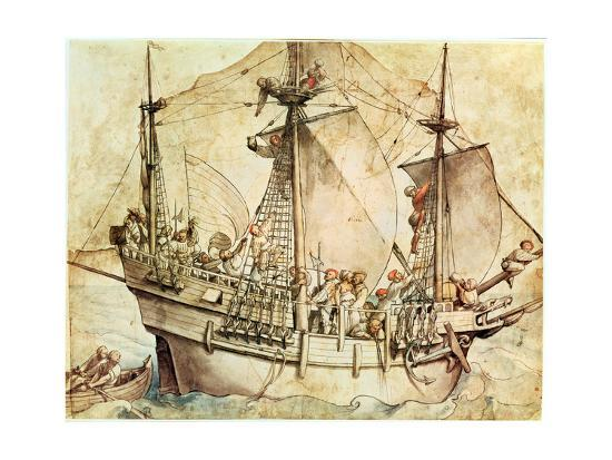 hans-holbein-the-younger-ship-with-armed-men