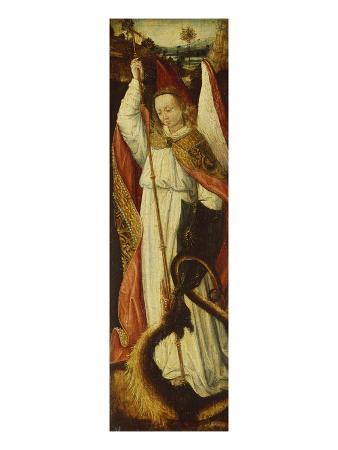 hans-memling-follower-of-the-archangel-michael-a-compartment-from-a-portable-triptych