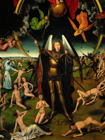 hans-memling-triptych-with-the-last-judgement-center-panel-detail-the-archangel-michael-weighing-the-souls