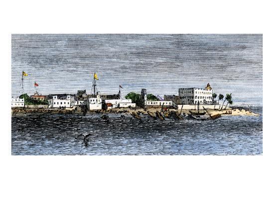 harbor-of-zanzibar-circa-1880
