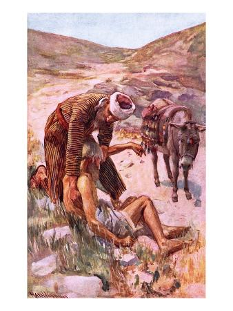 harold-copping-the-good-samaritan