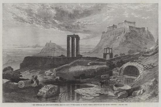 harry-john-johnson-the-olympaeum-and-acropolis-of-athens