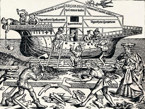 hartmannus-schedel-the-building-of-the-ark-superintended-by-noah-1493-1903