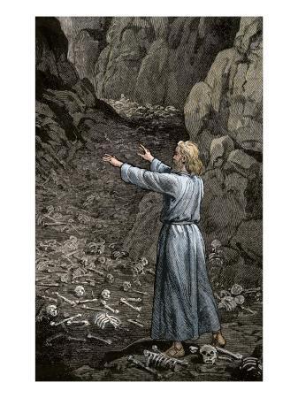 hebrew-prophet-ezekiel-walking-through-the-valley-of-dry-bones