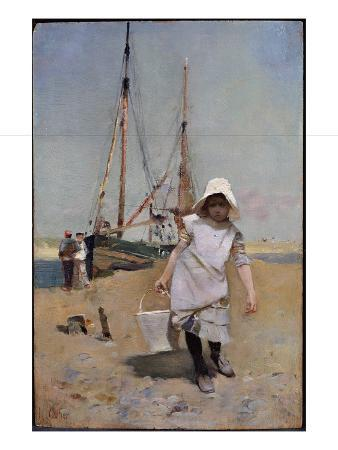 hector-caffieri-a-breton-fisher-girl-oil-on-panel