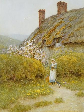helen-allingham-a-dorsetshire-cottage
