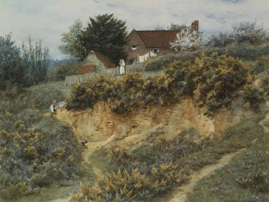 helen-allingham-at-sandhills-witley