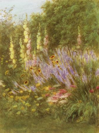 helen-allingham-corner-of-a-garden