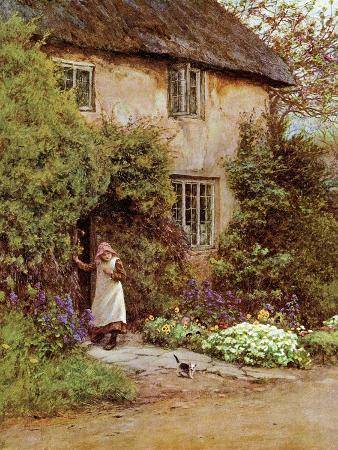 helen-paterson-allingham-the-cottage-door-1899