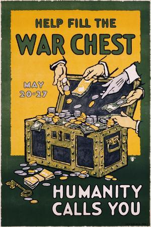 help-fill-the-war-chest-poster