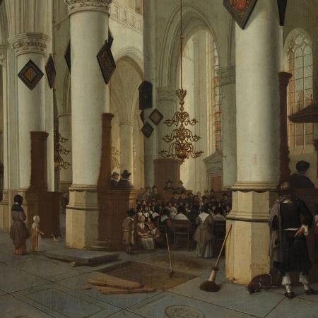 hendrick-cornelisz-van-vliet-view-inside-the-saint-bavo-church-in-haarlem-during-mass-1666