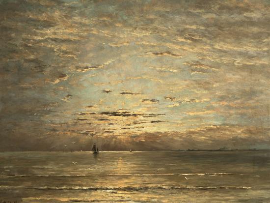 hendrik-willem-mesdag-a-seascape-at-sunset