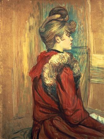henri-de-toulouse-lautrec-girl-with-a-fur-stole-mademoiselle-jeanne-fontaine-1891