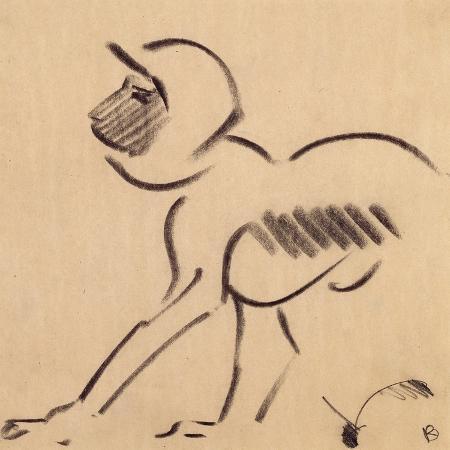 henri-gaudier-brzeska-crouching-monkey-c-1912-13