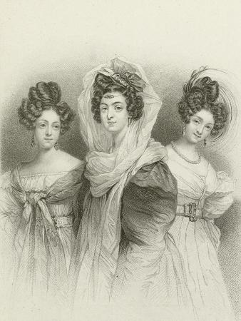 henri-grevedon-three-beauties