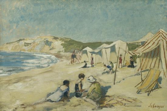 henri-lebasque-the-beach-at-pointe-st-gildas-la-plage-a-la-pointe-st-gildas-c-1920