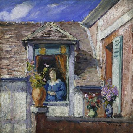 henri-lebasque-woman-at-the-window-femme-a-la-fenetre