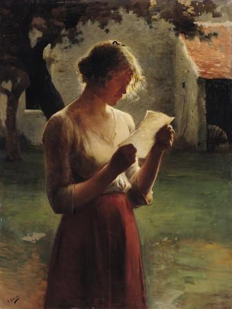 henri-lerolle-the-letter