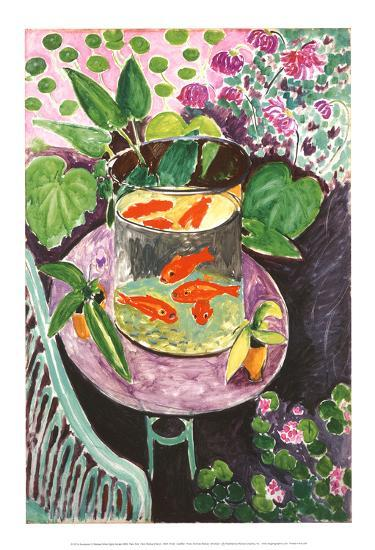 Goldfish Art Print By Henri Matisse At Art Com