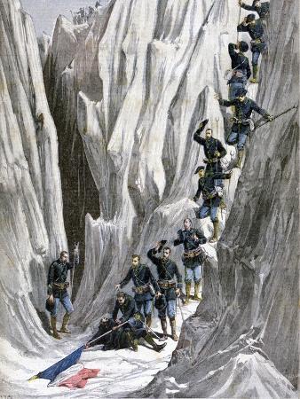 henri-meyer-the-discovered-corpse-of-lieutenant-bujon-french-alps-1891